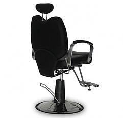Мужское парикмахерское кресло B-15 черное, фото 3