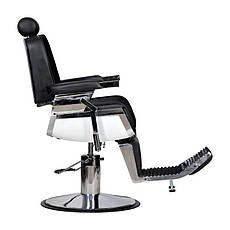 Мужское парикмахерское кресло Barber черное, фото 3