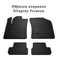 Коврики резиновые Renault Laguna II 01- (New Design) - (Комплект) Stingray
