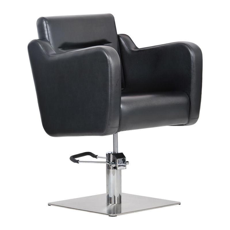 Парикмахерское кресло Lux черное