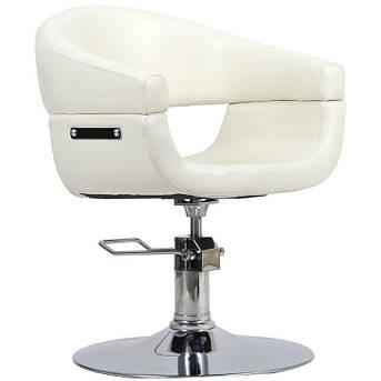 Парикмахерское кресло Toscania бежевое, фото 2