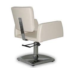 Парикмахерское кресло Viva бежевое, фото 3