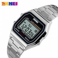 Мужские часы - Skmei 1123 - Silver, серебристый цвет (quartz), фото 1