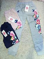 Утепленные спортивные   брюки для девочек Glo Story 134-164 см