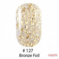 Гель-лак Naomi 127 Bronze-foil, 6 мл