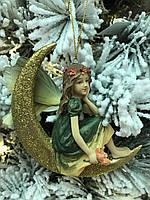 Елочная игрушка фея на луне Goodwill, фото 1
