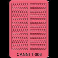 Трафарет для маникюра Т-006