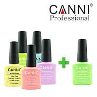 Набор гель-лаков Canni 5+1