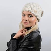 Шапка Эмили 17002 белый-меланж