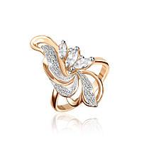 Серебряное кольцо-комплект КК3Ф/006