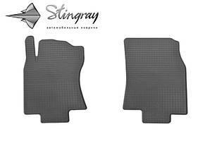 Nissan X-Trail (T32) 2014- Комплект из 2-х ковриков Черный в салон. Доставка по всей Украине. Оплата при получении