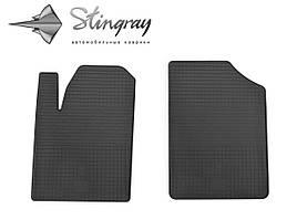 Peugeot Partner 1999-2008 Комплект из 2-х ковриков Черный в салон. Доставка по всей Украине. Оплата при получении