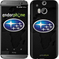 "Чехол на HTC One M8 Subaru. Logo ""3174c-30"""