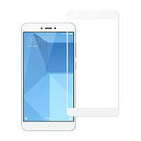 Защитное стекло для Xiaomi Redmi 4x 3D White