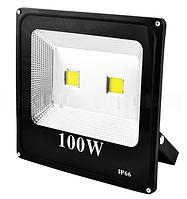 Прожектор светодиодный матричный SLIM YT-100W 2SMD, 9000Lm, IP66 (влагозащита) - 32  LO