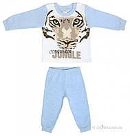 Пижама для ребенка Garden Baby 34027-07 р.86 голубой
