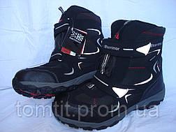 Фирменные термоботинки, Karrimor, оригинал, цвет черный, размер 37, фото 3