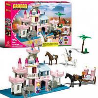 Детский конструктор замок принцессы 33051 330 дет  KK
