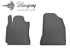 Chery Tiggo T11 2006-2014 Комплект из 2-х ковриков Черный в салон