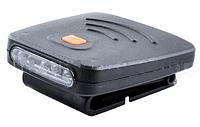 Фонарь на кепку Police 1805, USB, датчик на движение, аккумулятор LO