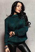Свитер женский модный теплый мериносовая шерсть и альпака разные цвета SSdi222