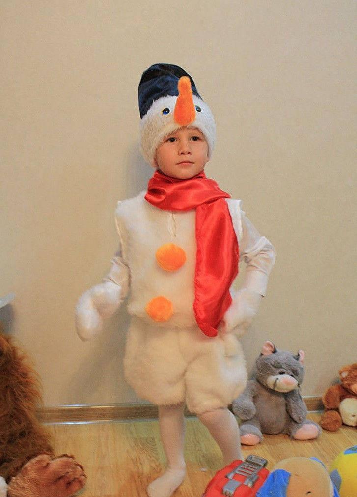 Костюм детский карнавальный Снеговик