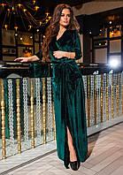 Платье королевский бархат р-ры 44-52