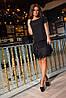Платье бахрома+пайетки р-ры 42-52