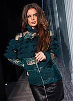 Блузка вышивка р-ры 42-48