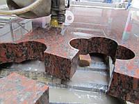 Резка (гидроабразивная резка) художественных панно из керамогранита