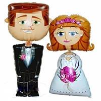 Шары фольгированные Жених и невеста Ходячие фигуры