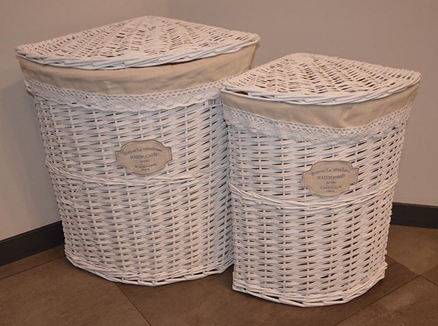 Плетеные корзины для хранения