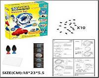 Набор ручка 3D LM111-3A  (48шт)  в коробке 11*24*7 см