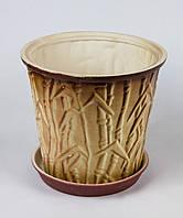 Цветочный горшок Бамбук в ассортименте 36 л