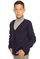 Красивая кофта для мальчика Джони темно-синий Код:579598991