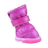 Ботинки для собак Дутики-Розовые, фото 1
