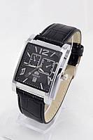Мужские наручные часы Orient (черный циферблат, черный ремешок)