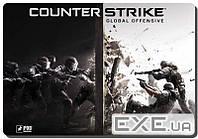 Коврик игровой Counter strike размер (330х430 мм) (GAME Counter strike-L)