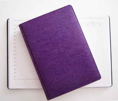 Щоденник Brisk Office, Sarif, 176 аркушів, фіолетовий, ф142*203  ЗВ-43