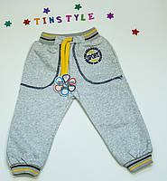 Спортивные теплые  брюки  для мальчика на 1-5 лет, фото 1