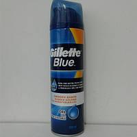 Гель для бритья мужской Gillette Blue  (Жиллетт для гладкого бритья ) 200 мл.
