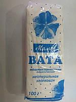 Вата медицинская 100 г нестерильная (зиг-заг) Мальва/ Ватфарм