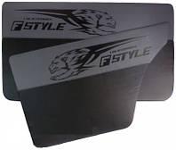 Карта двери ВАЗ 2101-07 серая Fstyle maxi (4шт) 14304