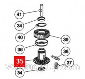 Шестерня коническая редуктора TO4016/5016 (BMG1631R05.4567)