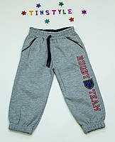 Спортивные теплые  брюки  для мальчика от 6 мес до 2 лет