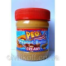 Арахисовое масло Peo Peanut Butter creamy  340 гр., Германия
