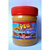 Арахисовое масло Peo Peanut Butter creamy  340 гр., Германия, фото 1