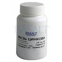 Мазь Цинковая 10% 100 г (Базальт) для лечения ран, ожогов, экземы, трофических язв и пролежней