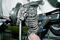 Замена амортизатора без пружины (вставка)