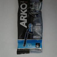 Станок мужской одноразовый Arko 3 шт. (Арко мен Т-2), фото 1